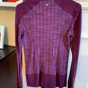 Lululemon zip up size 6